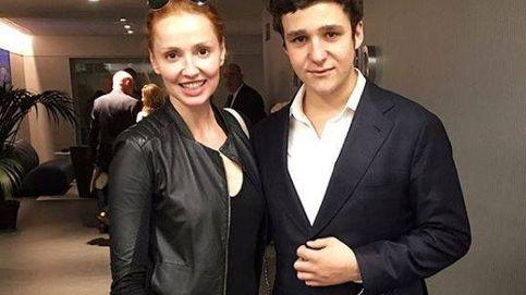 Cristina Castaño sube una foto junto a Froilán, protagonista de 'Cuerpo de élite'