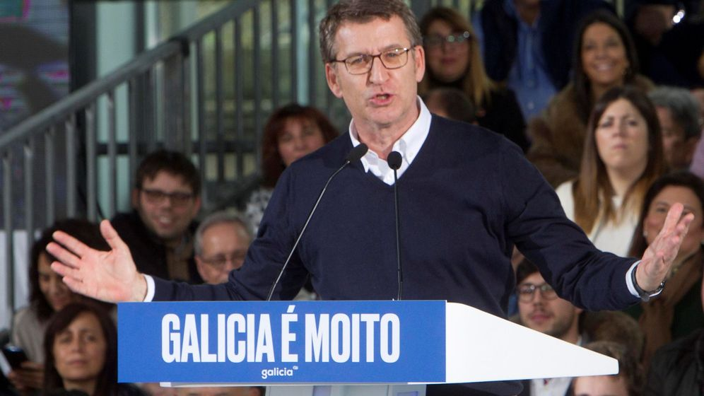 Foto: El Presidente de la Xunta de Galicia Alberto Núñez Feijóo. (EFE)