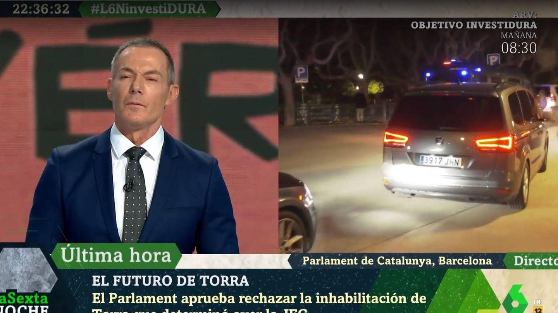 Hilario Pino, en 'La Sexta noche'. (Atresmedia).