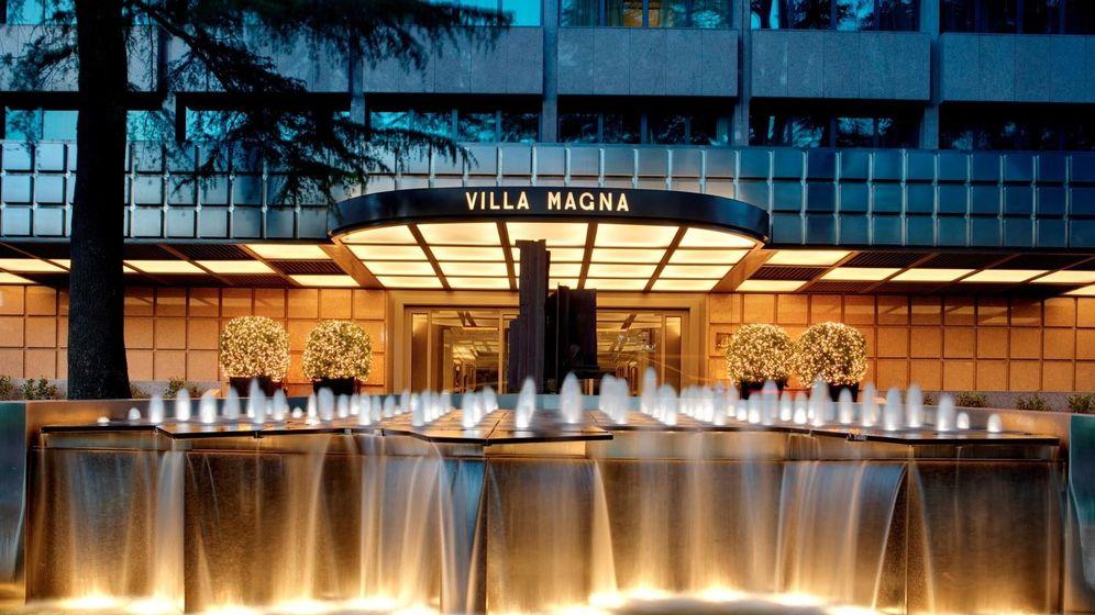 Foto: Entrada principal del hotel Villamagna. (Foto: Villamagna.es)