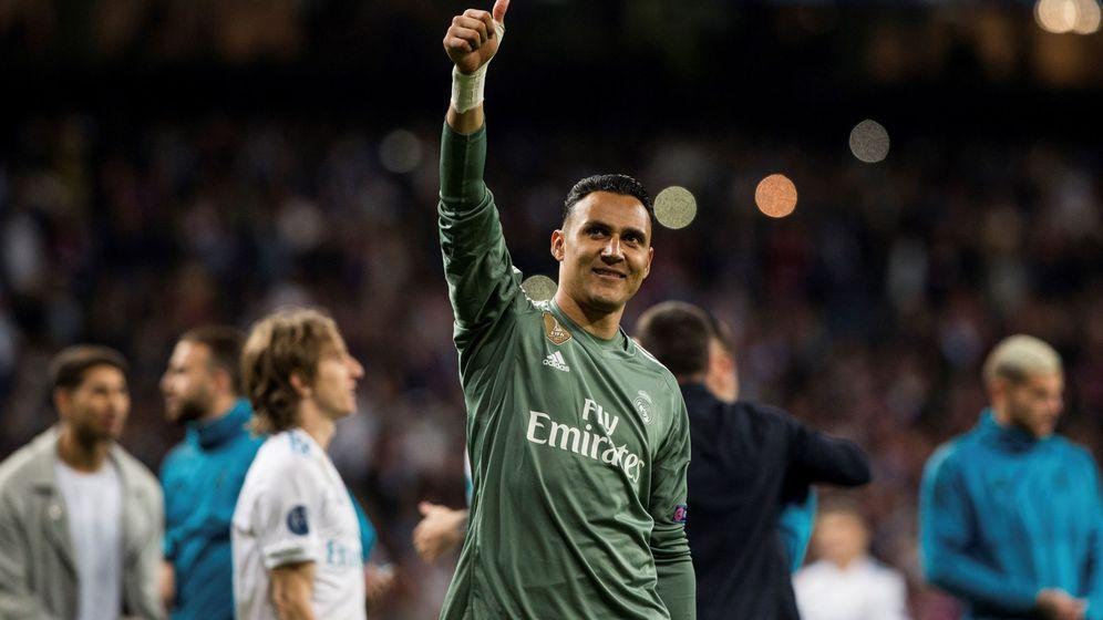 Foto: Las paradas de Keylor Navas han sido decisivas en la clasificación del Real Madrid para la final de la Champions League. (EFE)