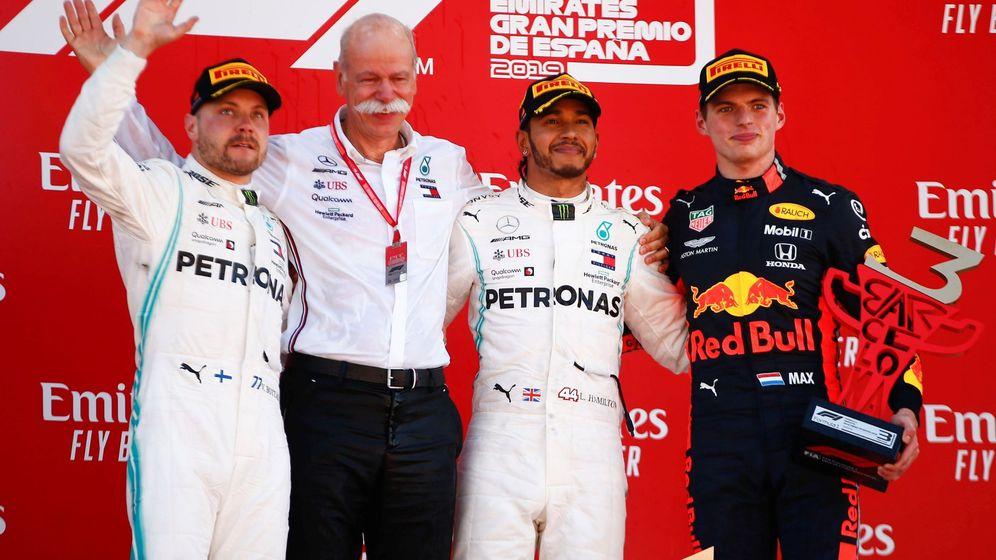 Foto: Hamilton no tuvo rival en el GP de España. (EFE)