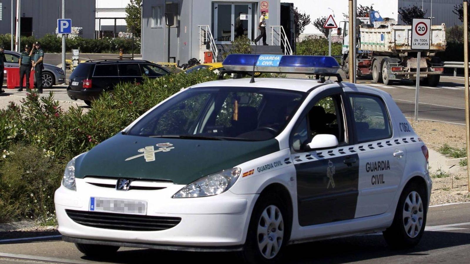 Foto: Un coche de la Guardia Civil - Archivo. (EFE)