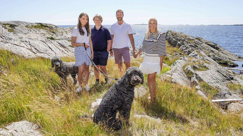 La familia real de Noruega. (EFE)