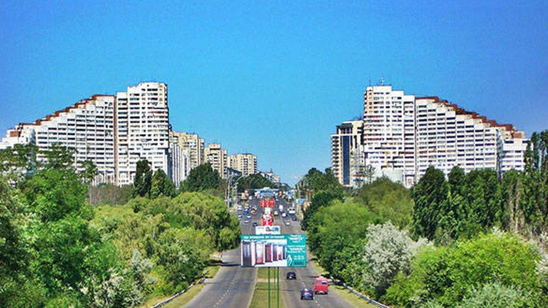 Chisinau, capital de Moldavia.