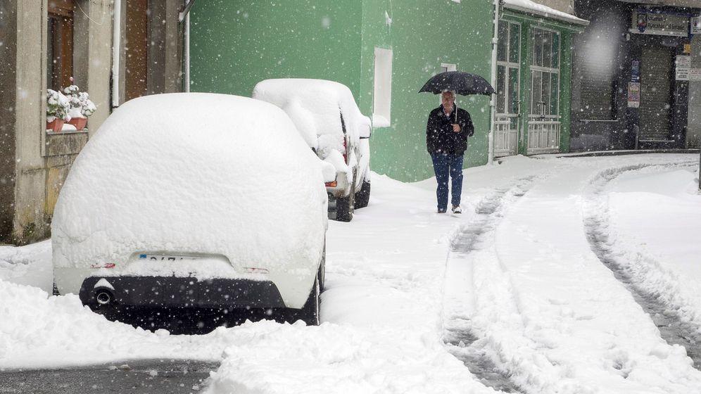 Foto: Las mejores fotos del temporal de nieve en Cantabria, Burgos y Asturias