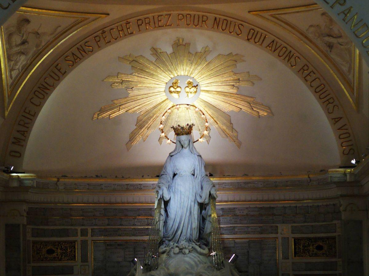 Foto: Capilla de Nuestra Señora de la Medalla Milagrosa, en París (CNSMM)