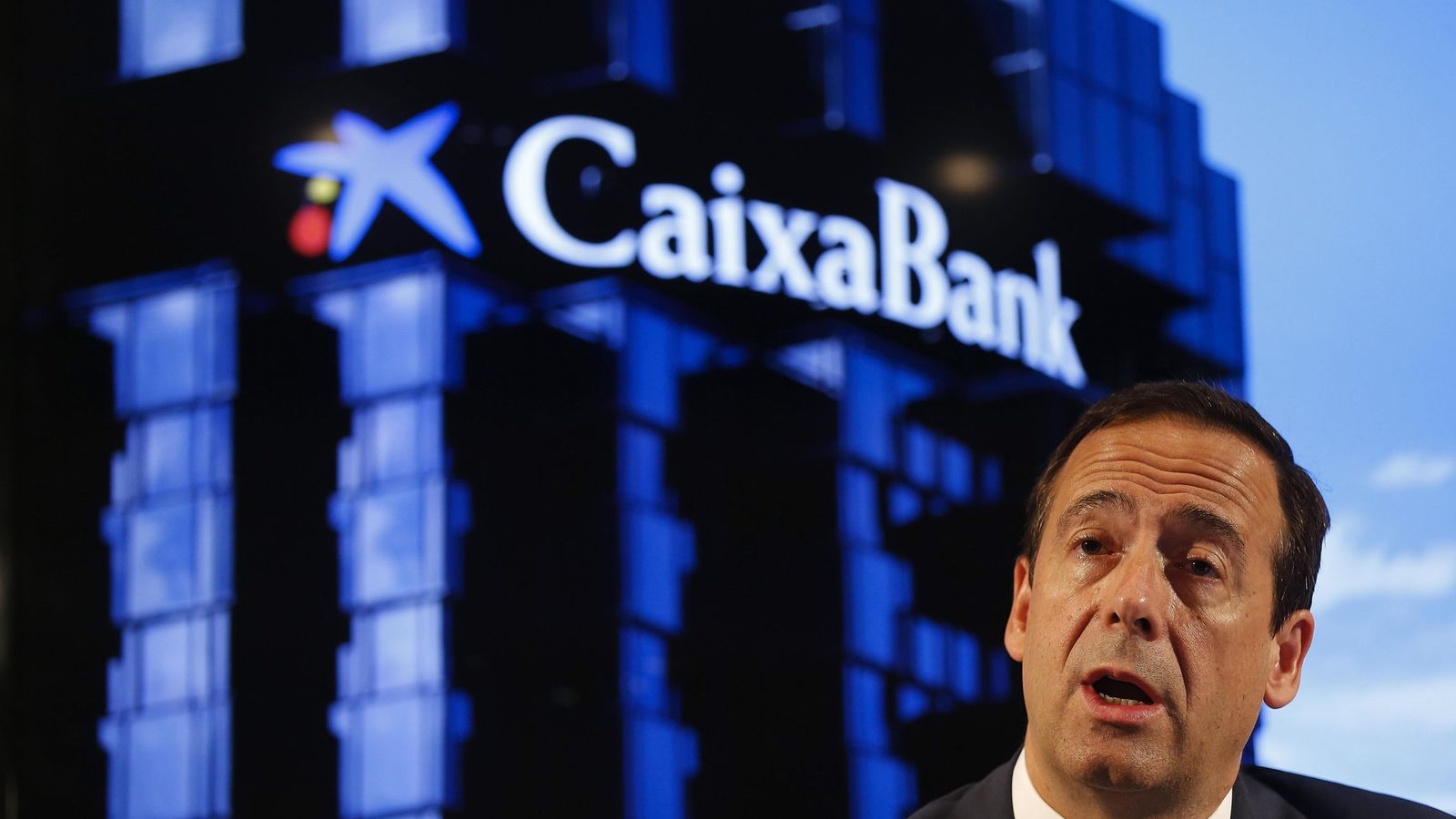 Foto: El consejero delegado de CaixaBank, Gonzalo Gortázar. (EFE)