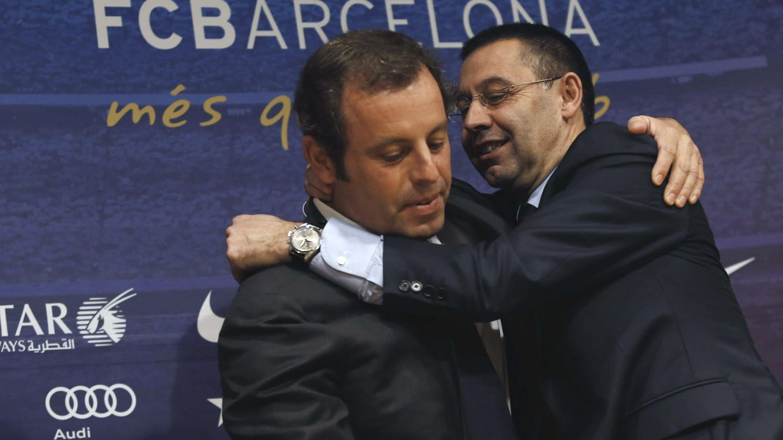 Rosell y Bartomeu |  EFE - Alejandro García