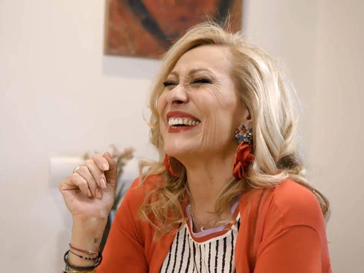 Foto: Rosa Benito, en 'Ven a cenar conmigo'. (Telecinco)