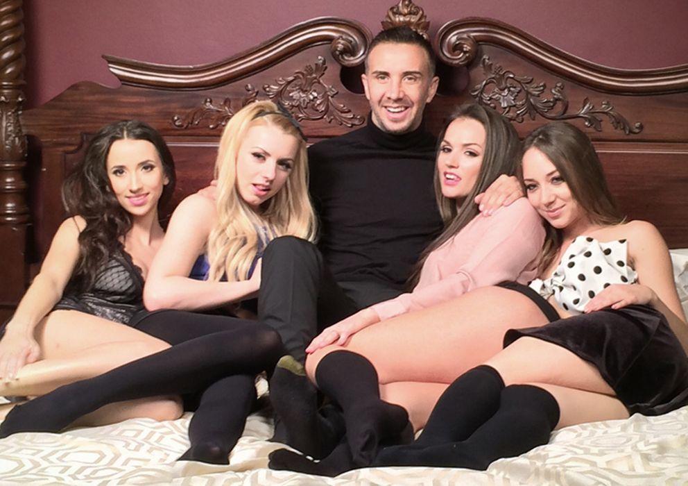 Foto: Los miembros del jurado del concurso televisivo 'The Sex Factor'. (@TheSxFactor)