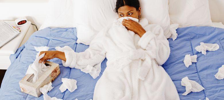 Foto: El malestar general provocado por una gripe puede impedir que se siga haciendo vida normal. (Corbis)