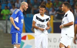 Ronaldo y Zidane reunirán a grandes estrellas contra la pobreza