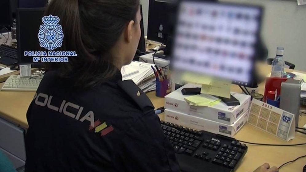 Foto: Agente de Policía Nacional. (EFE)