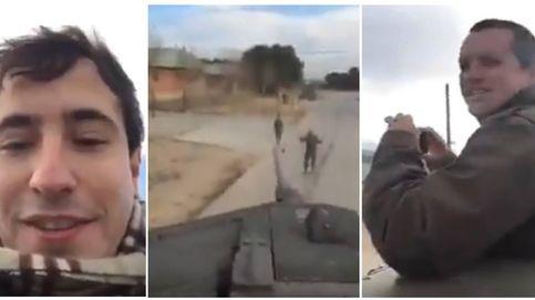 Un vídeo, un tanque, una amenaza... y la condena de todos los partidos