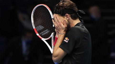 Thiem desencadena un terremoto para sobrevivir a Djokovic en el Masters