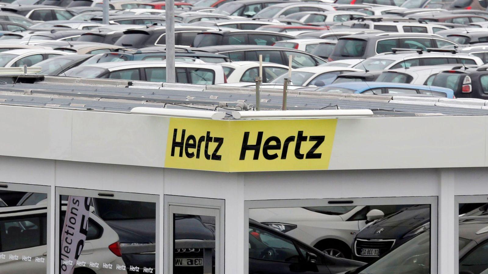 Hertz en bancarrota por restricciones de viaje