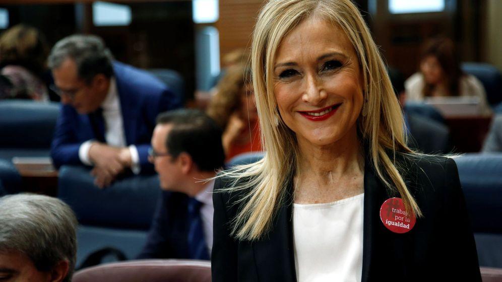 Foto: La presidenta Cifuentes