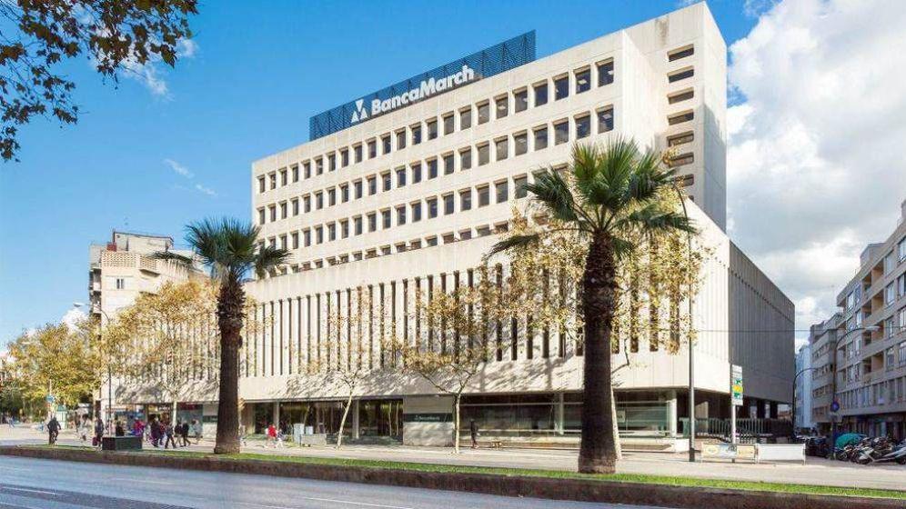 Foto: La sede de Banca March, en Palma de Mallorca.