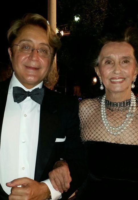 Foto: La condesa junto a José Víctor durante los 'Escaparate' (FOTO: Paloma Barrientos)