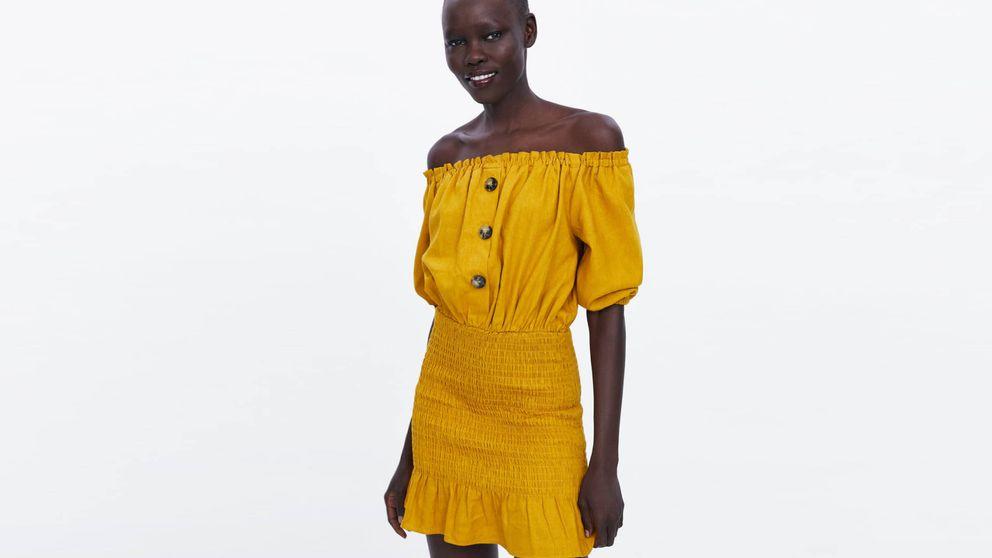 ¿Caderas anchas? Este es el vestido ideal para ti y es de Zara