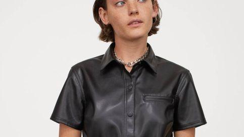 El vestido de cuero de H&M a lo Letizia que vamos a comprar por 30 euros