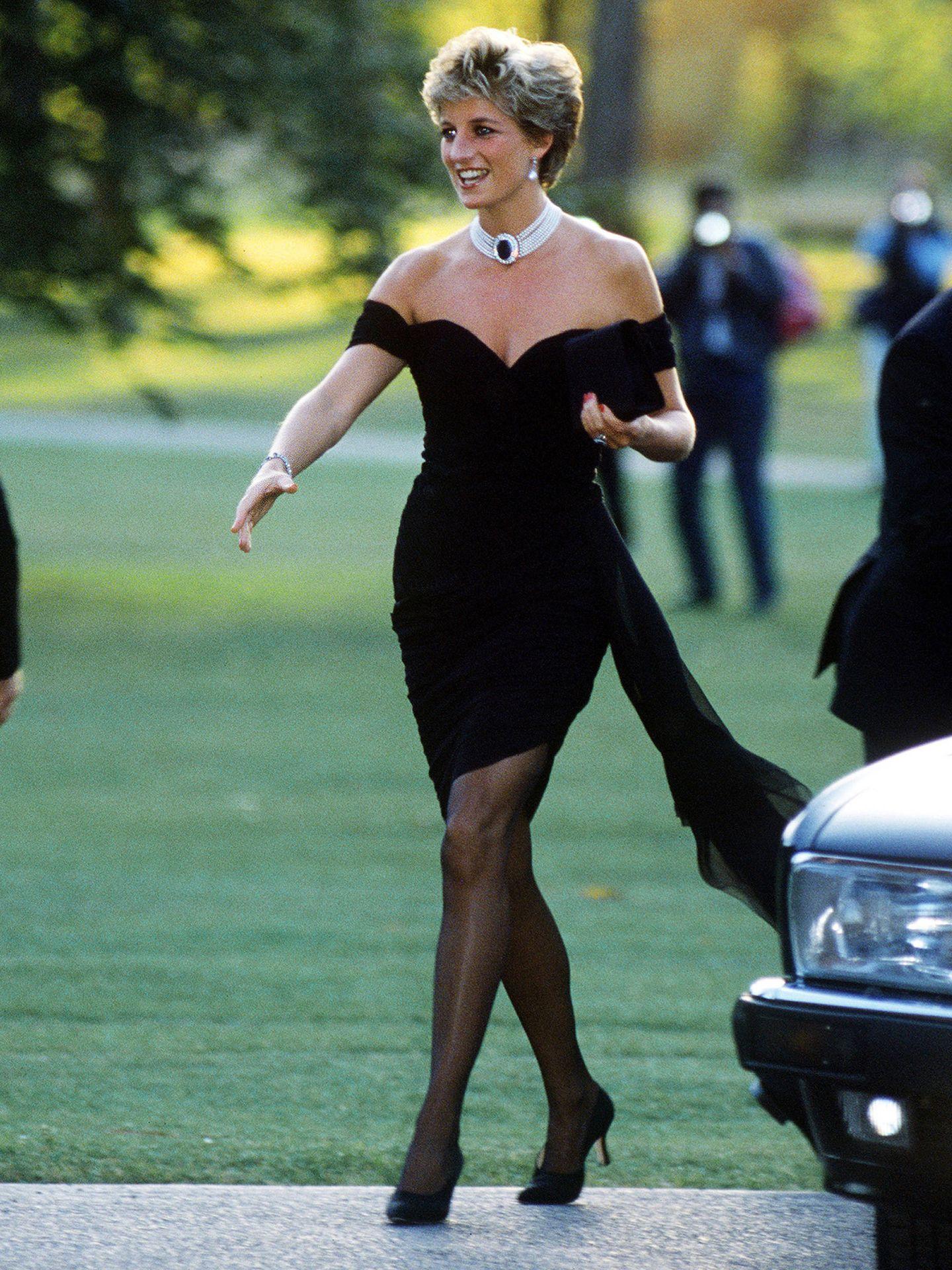 Diana y su inolvidable vestido.