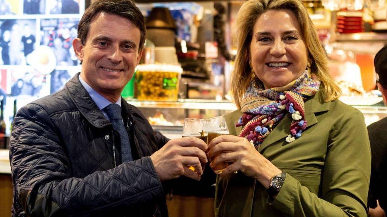 Manuel Valls y Susana Gallardo: su amor ardiente según 'Paris Match'