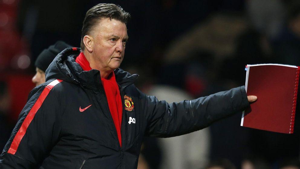 El miserable juego del United  vuelve a sacar de quicio a Van Gaal