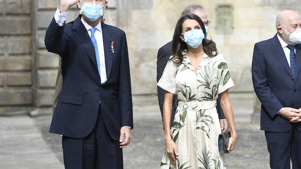Foto: Felipe VI y Letizia en Santiago de Compostela. (Limited Pictures)