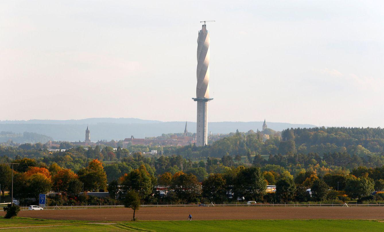 La torre en espiral de 250 metros donde se probará el ascensor del futuro