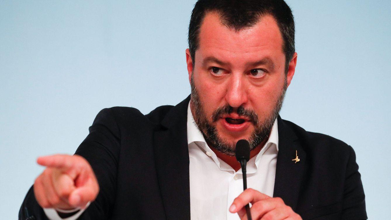 Foto: Salvini, tras la aprobación del decreto de seguridad. (Reuters)