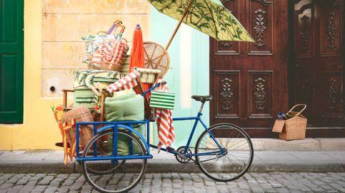Esta mochila es de Ikea y parece sacada de una tiendita ideal de París