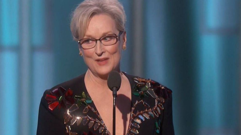 El emotivo discurso de Meryl Streep
