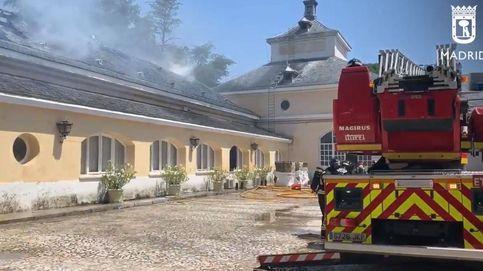 Un incendio afecta a un archivo de Patrimonio Nacional en El Pardo (Madrid)