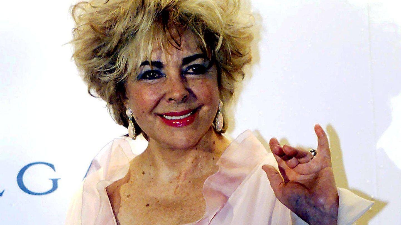 La actriz, en una imagen de sus últimos años. (EFE)