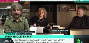 Post de Primeras palabras de Jordi Évole tras el tenso rifirrafe con Mònica Terribas