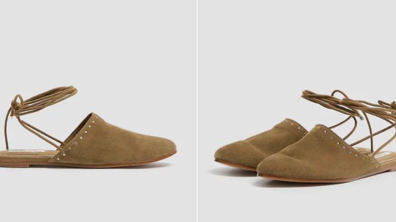 Zapatos de piel de Pull and Bear. (Cortesía)