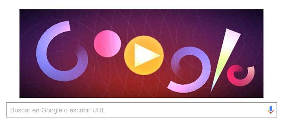Foto: Así es el 'doodle' con el que Google rinde homenaje a Oskar Fischinger