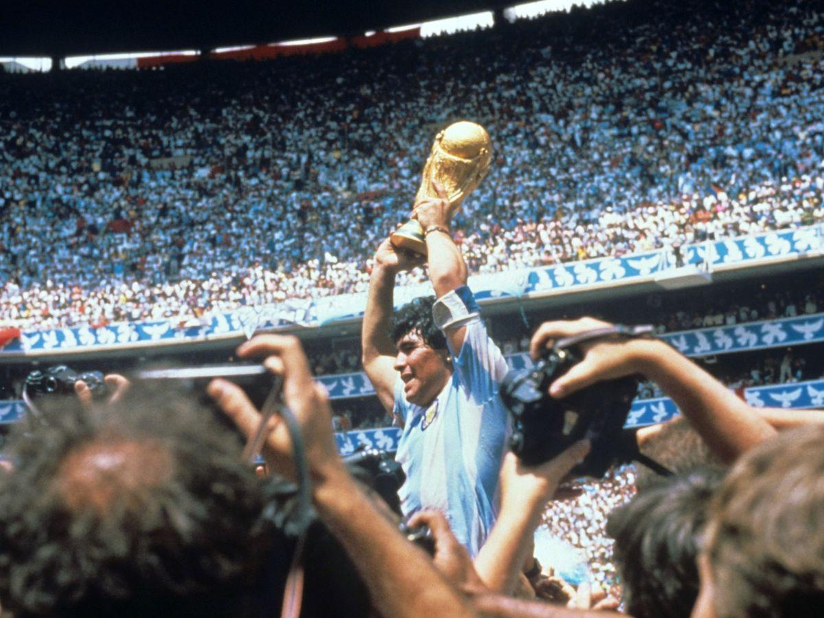 Foto: Diego Maradona, el hombre mitológico. (Efe)