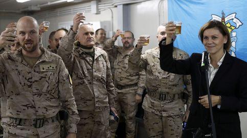Cospedal visita a las tropas que combaten al Estado Islámico en Irak