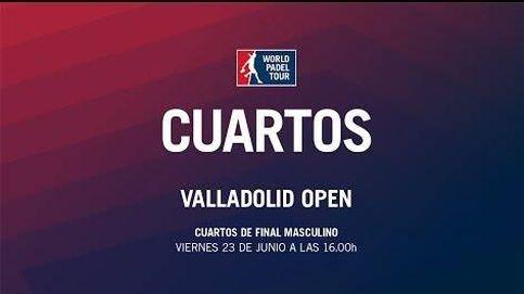 El calor fue el protagonista en los cuartos del Valladolid Open de pádel