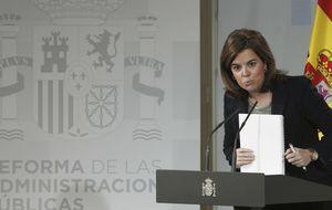Sáenz de Santamaría asume el  Departamento de Seguridad