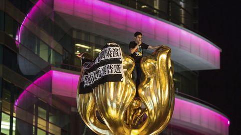 Protesta para pedir el sufragio universal en Hong Kong