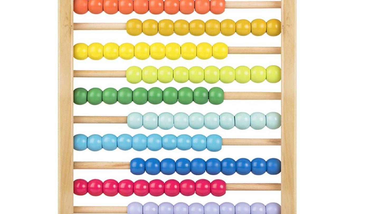 Ábaco de colores. (Amazon)