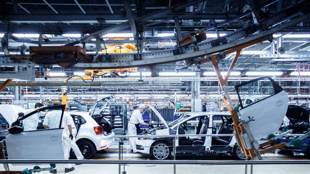 Foto: La planta de Volkswagen en Navarra comenzó su producción el pasado lunes a ritmo muy lento.