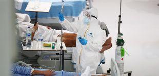 Post de El Zendal frena en seco la salida de médicos por la subida de casos
