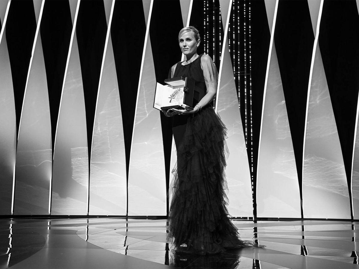 Foto: Julia Ducournau en el Festival de Cannes. (Getty)