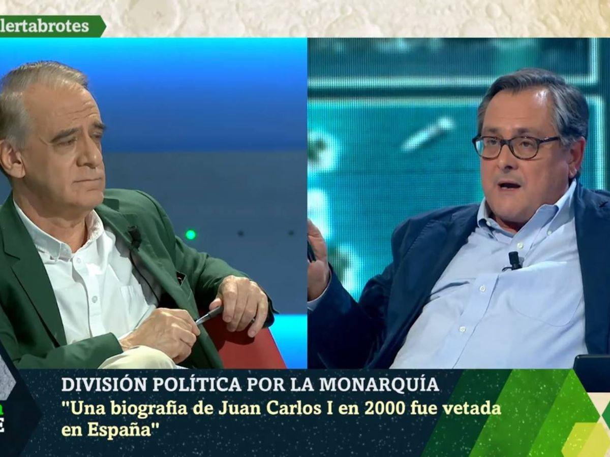 Foto: Ignacio Cembrero y Marhuenda, en 'La Sexta noche'. (Atresmedia).