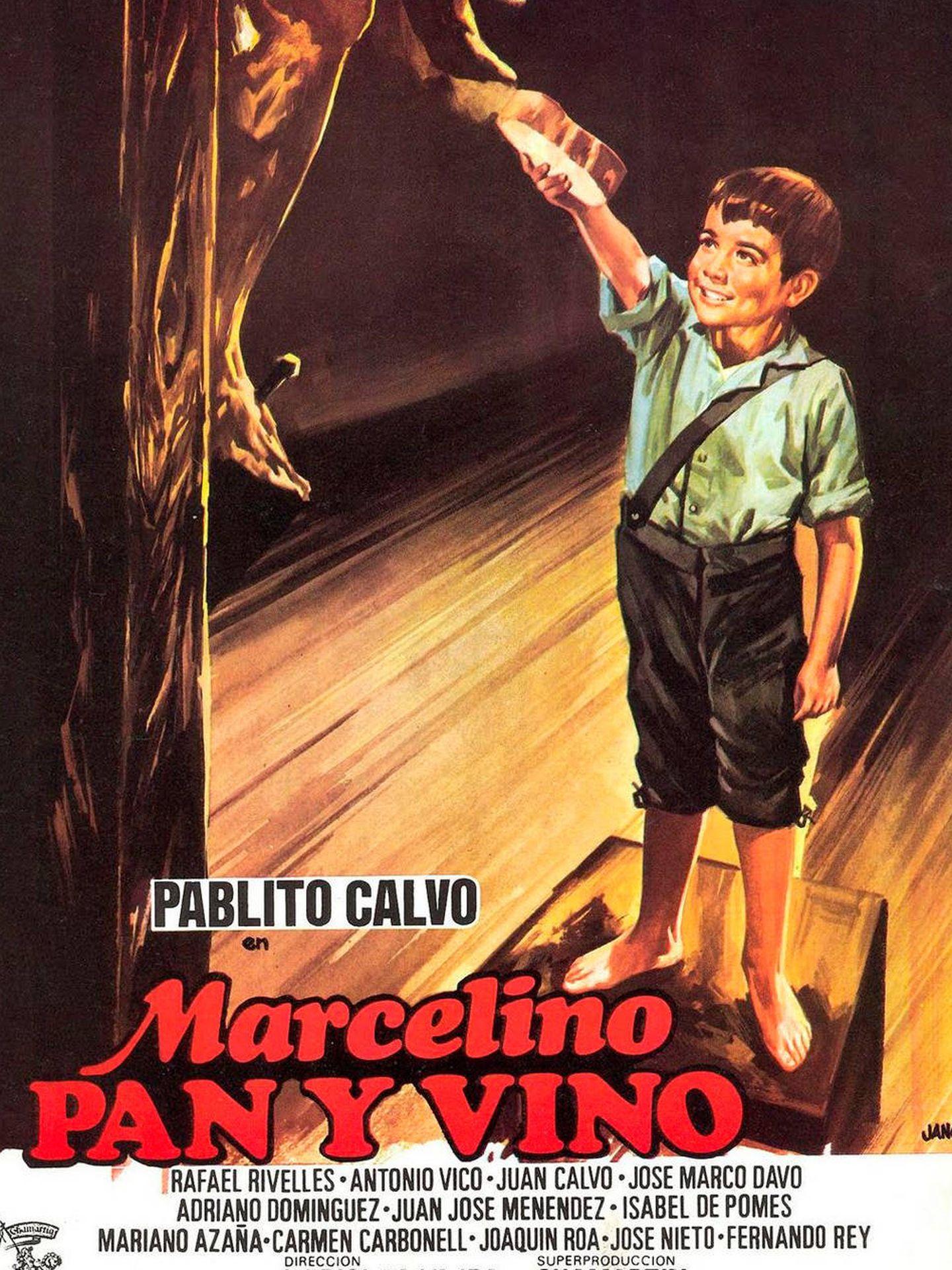 Cartel de 'Marcelino, pan y vino'.